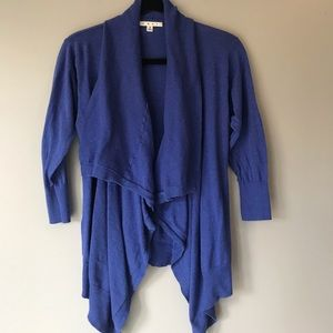 Cabi open front cardigan size small